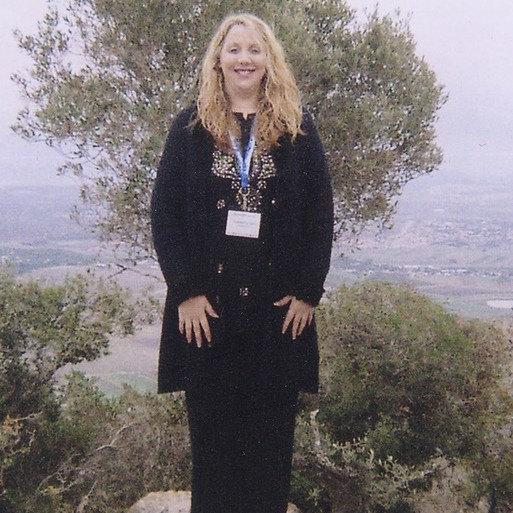 Standing on Mt. Carmel overlooking the Valley of Gethsemane
